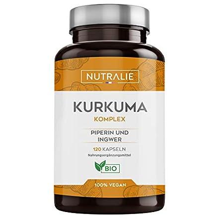 Kurkuma und Pfeffer - 100% Natürlich