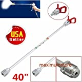 Maximumstore - 40'' inch Airless Paint Spray Gun Extension Pole Tip For Graco Wagner Titan SE