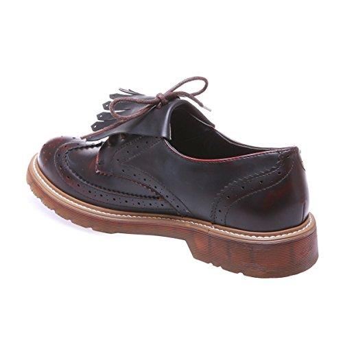 De Mujer Rojo Para Cordones Zapatos Modeuse La qgFwS41S