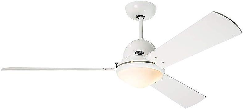 Casafan Libeccio 142 WE - Ventilador de techo con luz (120/142 cm ...