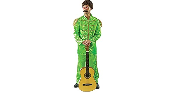 Mens Beatles Sgt Pepper Lonely Hearts 60s Green Pop Star Fancy Dress Costume: Amazon.es: Ropa y accesorios