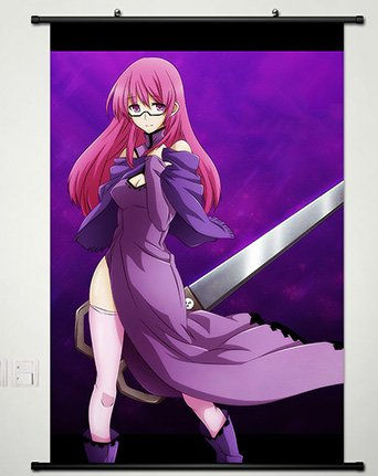Akame ga Kill Wall Scroll Poster Fabric Painting for Anime Sheele 034 L (Akame Ga Kill Mine)