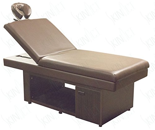 Elite Massage Table, Facial Bed with Reclinable Backrest