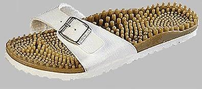332e1a0ec64c Image Unavailable. Image not available for. Colour  Birki s Noppy-Flex  Sandals Noppys white ...