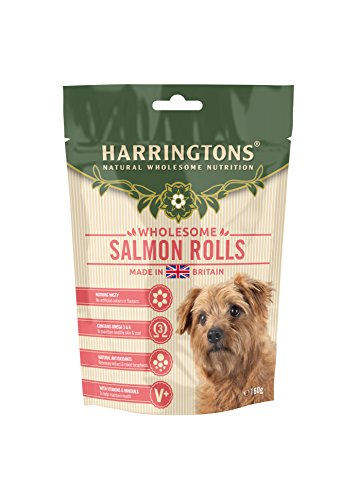 Harringtons Salmon Roll Dog Treats 160 g (Pack of 8)