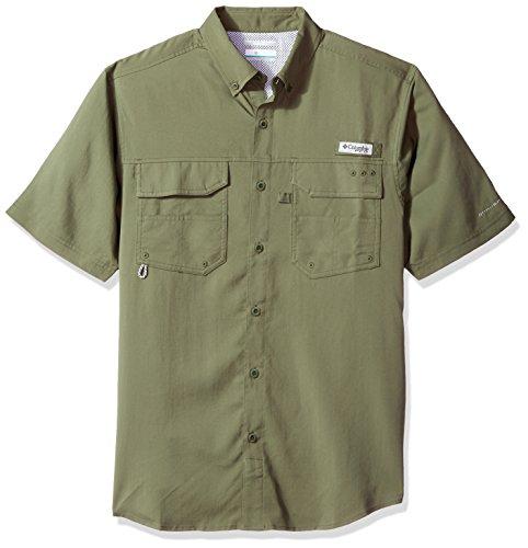 - Columbia Men's Blood and Guts III Short-Sleeve Sun Shirt, Waterproof, Cypress, X-Large
