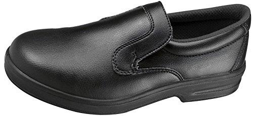 Komfort Griff Erwachsene Slip auf waschbar DK40Schuh Herren atmungsaktiv Sicherheit Schuhe