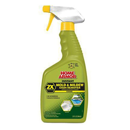 Home Armor FG502 Instant Mold and Mildew Stain Remover, Trigger Spray 32-Ounce (Mildew Removal Stain)
