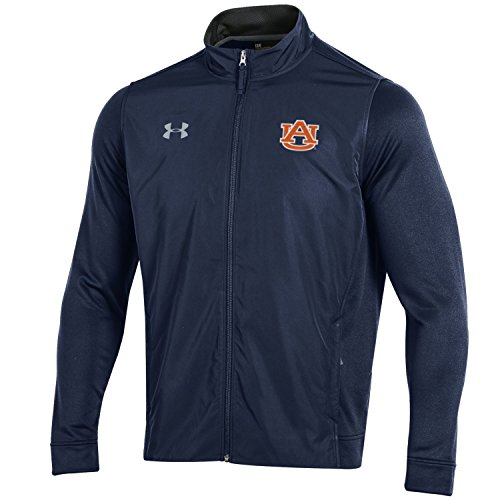 - Under Armour NCAA Auburn Tigers Adult Men's French Terry Full Zip, Large, Navy