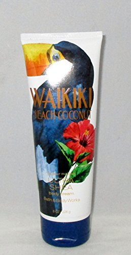 - Bath & Body Works Ultra Shea Cream Waikiki Beach Coconut