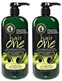 Cleansing Oil Hair - Hair One Olive Oil Cleansing Conditioner for Dry Hair (2 Pack)