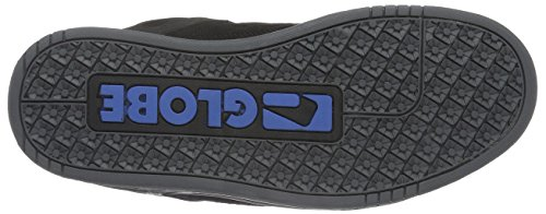 GlobeTilt, Zapatillas de Skateboarding Hombre Negro (Black/Black/Blue)