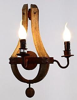 DXZMBDM® Lampade a candela da parete Stile Mini Tradizionale/classico Legno/bambù , warm white-220-240v