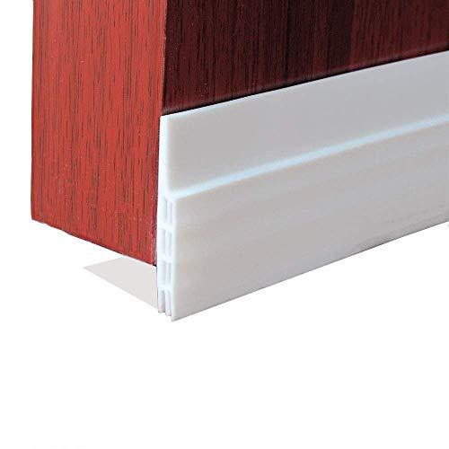 3 Pack Door Draft Stopper, Under Door Draft Blocker for Soundproof and Prevent Bugs(White 2 Width X 39 Length)