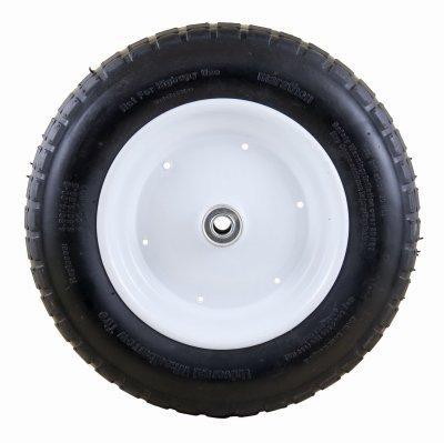 Wheelbarrow Wheel Univ Fl-Free