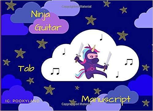 Amazon.com: Ninja Guitar Tab Manuscript (9781724809384 ...