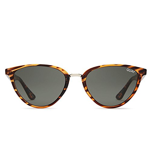 Quay Australia RUMOURS Women's Sunglasses Almond Shaped Sunnies - - Australia In Tortoise