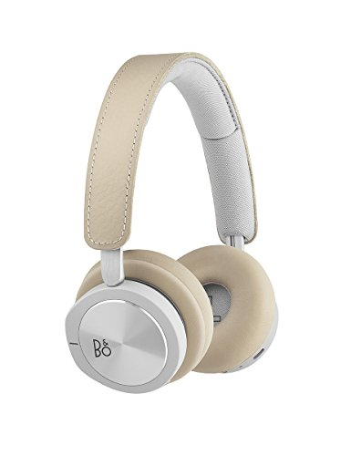 B&O PLAY by Bang & Olufsen 1645146 Beoplay H8i Wireless Bluetooth On-Ear Headphones with Active Noise Cancellation (ANC…