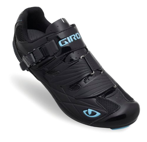 Giro GF22150 Womens Solara Road Bike Shoes, Blk/Milky Blue - 39 by Giro