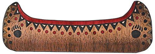 ar Lodge Cabin Carpet Runner Rug Size: 2'10