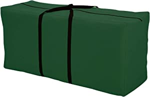 Orqihod Outdoor Furniture Seat Cushions Storage Bag Patio Cover Carrying Bag Large Size Green Waterproof