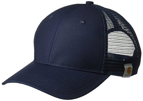 (Carhartt Men's Rugged Professional Cap, Navy, OFA )