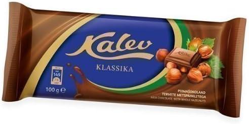chocolate con leche Barra Con Avellanas Completas 100g - De ...