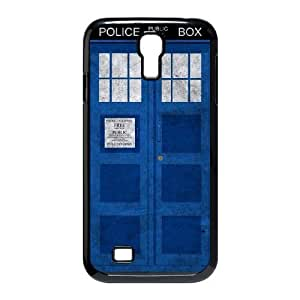 wugdiy DIY Protective Snap-on Hard Back Case Cover for SamSung Galaxy S4 I9500 with Police Box