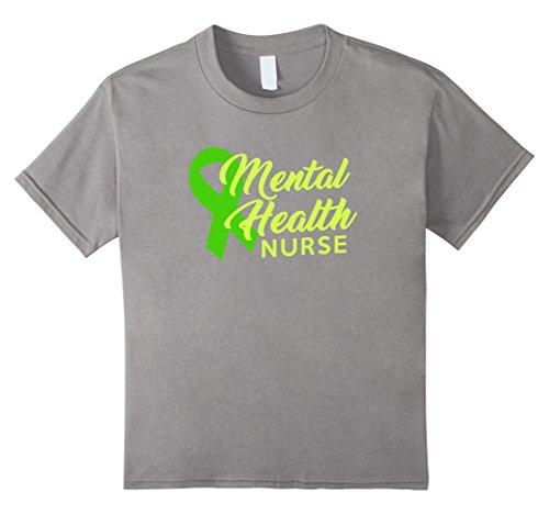 Kids Mental Health Nurse Shirt Awareness Ribbon Stop the Stigma 8 (Mental Health Awareness Bracelets)