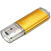 SODIAL(R) 5 x 8GB USB 2.0 Memory Stick Flash Drive Memory Data Stick Gold
