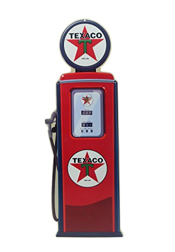Texaco Die Cut Emb Tin - Texaco Globe Gas Pump Sign (Signs Pump Gas)