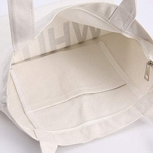 Bolsa de lona Bolsa OYZZCanvas Math Fun Bolsas de algodón blancas Cierre de cremallera Unisex White9: Amazon.es: Zapatos y complementos