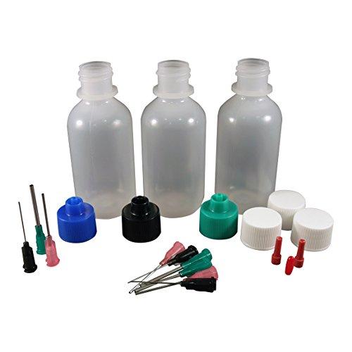 Jensen Global Gun Oil Kit with 2 oz Bottles & Blunt Dispensing Tips. (non sterile / non medical)
