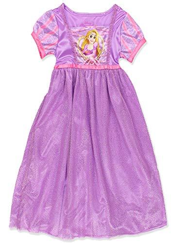 Disney Princess Rapunzel Toddler Girls Fantasy Gown Nightgown Pajamas (3T, -