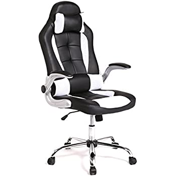 Amazon Com Homall Executive Swivel Leather Gaming Chair
