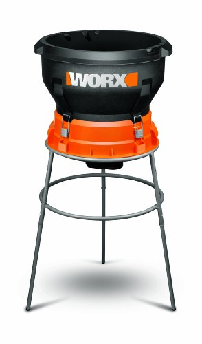WORX WG430 13 Amp Foldable Bladeless Electric Leaf Mulcher (Mask For Stand Does What)