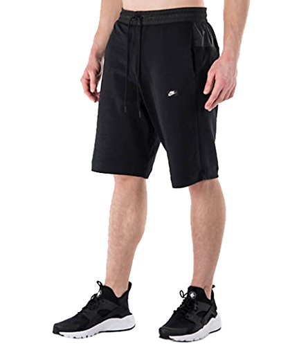 Nike Mens Modern Shorts Black/White 834350-010 Size Medium