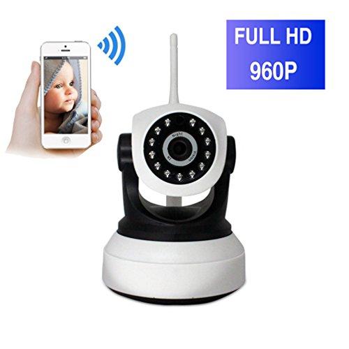 ShengyaoHul 960P HD Indoor Monitor Video Per Bambini, 1.3 Mp Sistema Di Telecamere Di Sicurezza Casa Ip / Spegnimento Allarme / Citofono Bidirezionale / Spegnimento Allarme Telecamera Di Sicurezza