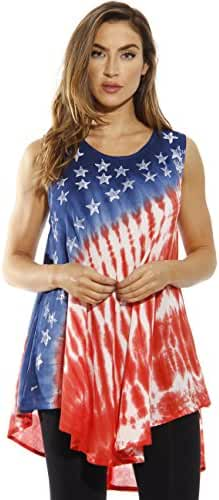 Riviera Sun American Flag Top / Tops for Women