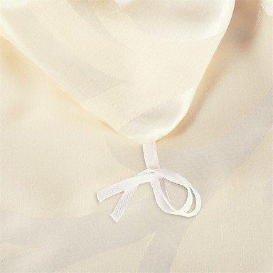 MEI Luxury Jacquard Silk Cotton Blend 4pcs Duvet Cover Bed Sheet Pillowcase Bed Linen by MEI (Image #6)