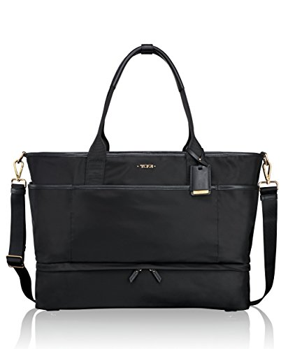 Tumi Women's Voyageur Breyton Weekender Travel Tote, Black, One Size