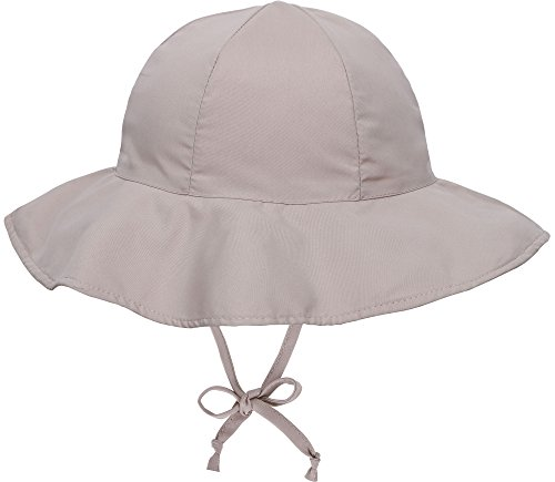 SimpliKids UPF 50+ UV Ray Sun Protection Wide Brim Baby Sun Hat,Khaki,0-12 Months