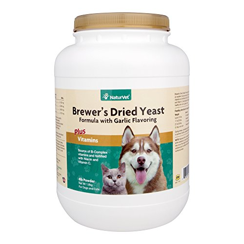 Cheap NaturVet Brewer's Yeast formula -Garlic Flavor- 4lbs