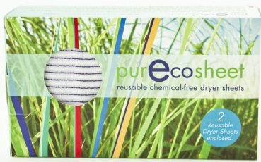 Pure Eco Sheet - Static Eliminator Chemical Free Laundry Sheets
