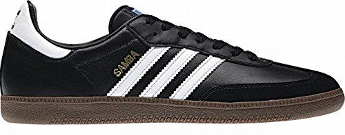 Adidas Unisexe Adulte Samba Faible Dessus, Noir (black 1 / Blanc Gomme)