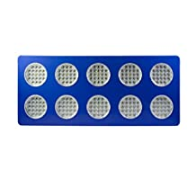 Ecosort Full Spectrum 400W LED Grow Light for Indoor Plant Growing with Hanging Kits Red:Blue=7:1