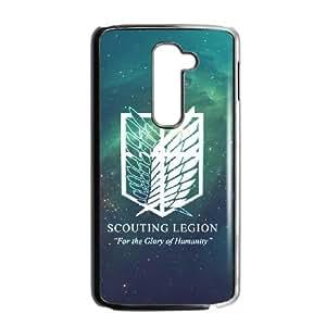 Attack On Titan LG G2 Cell Phone Case Black VC94008G