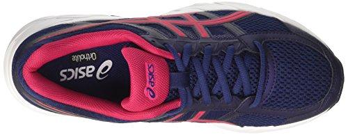 Cosmo Pink 4 Blau Gel Indigoblau Gymnastikschuhe Damen Schwarz Asics Contend q8408t