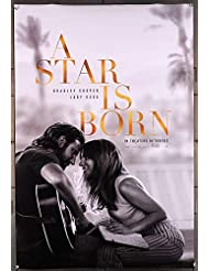 Star Is Born, A (2018) One Sheet Poster (27x40) Rolled Very Fine BRADLEY COOPER LADY GAGA Film Directed by BRADLEY COOPER