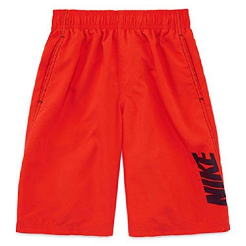 Nike Convoy Logo Volley Swim Trunks - Boys Size M